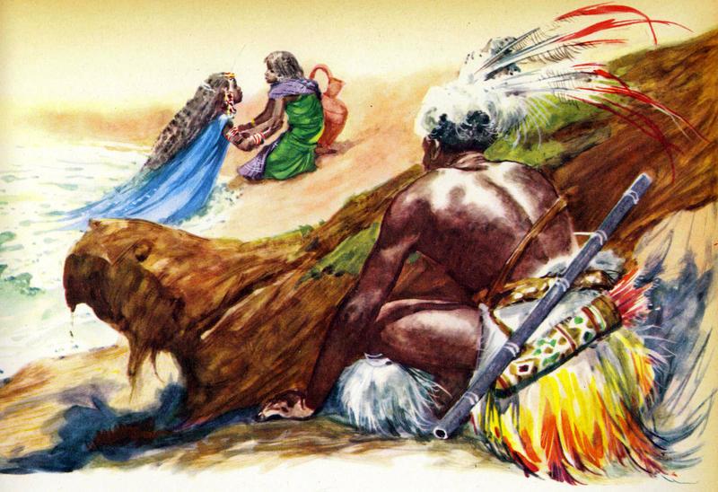 африканская сказка кто сильнее картинки под