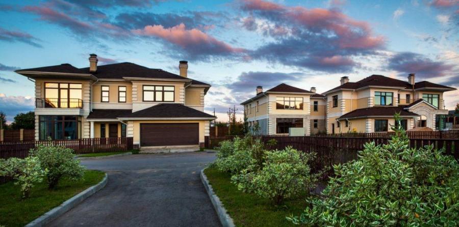 рублевка лион поселок дома красивый дом