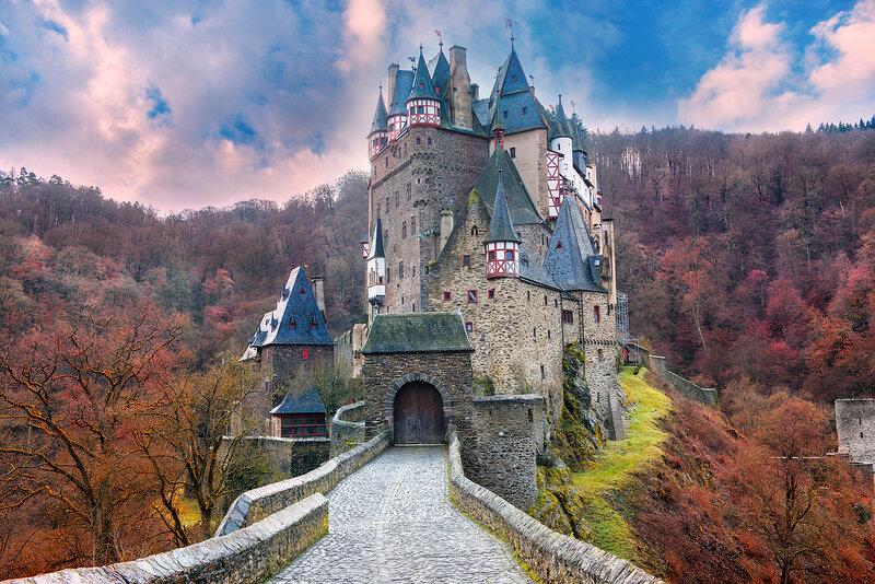 Замок, Эльц, окрестности Мюнхена.