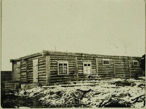 Видстроящейся  малой казармы для войск местного гарнизона(на дороге Култук-Иркутск)