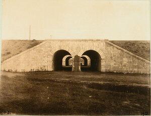Вид двойной каменной трубы на 885-й версте. Гродненская губ. Белосток г.