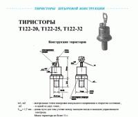 Тиристоры Т122..