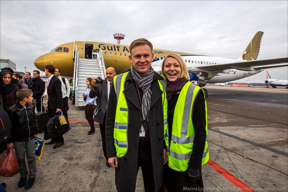 Gulf Air в Домодедово