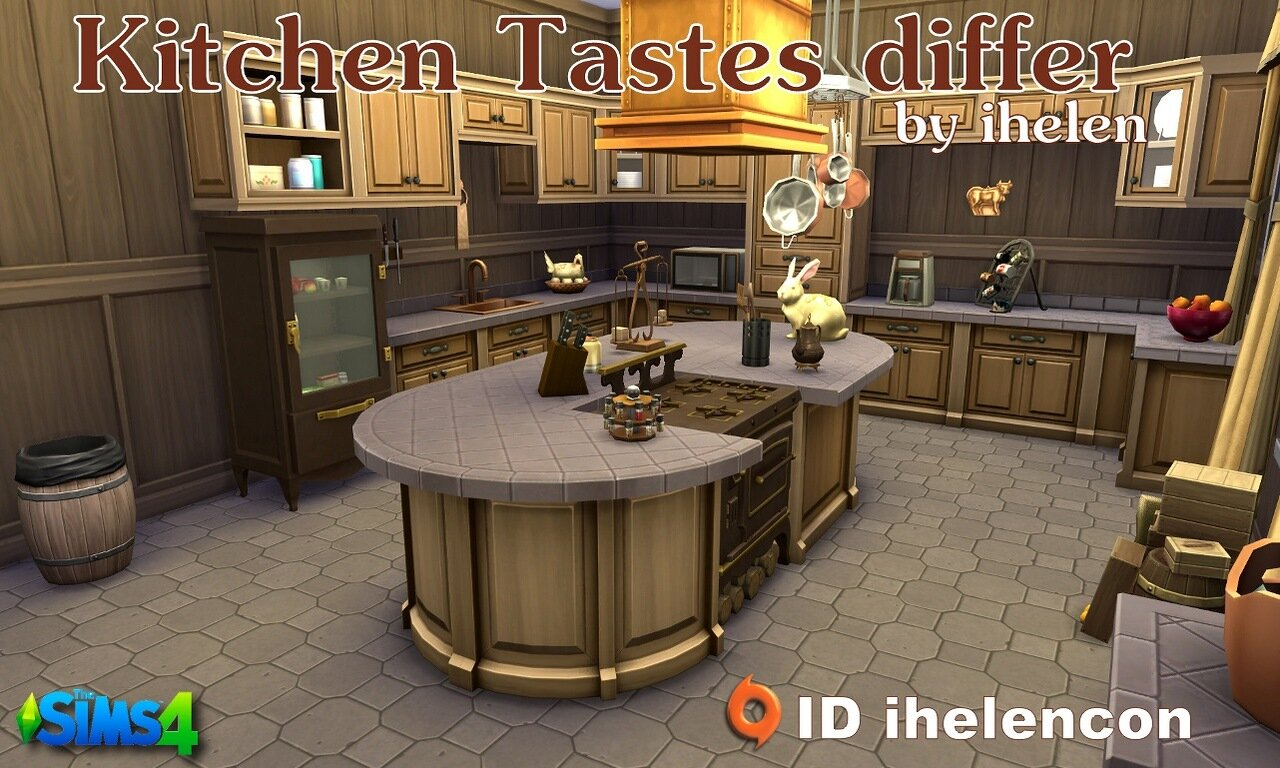 Kitchen Tastes differ by ihelen