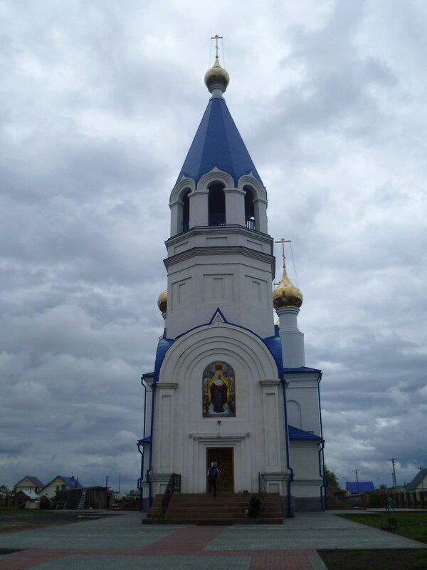 Церковь в Барабинске (Church Barabinsk)