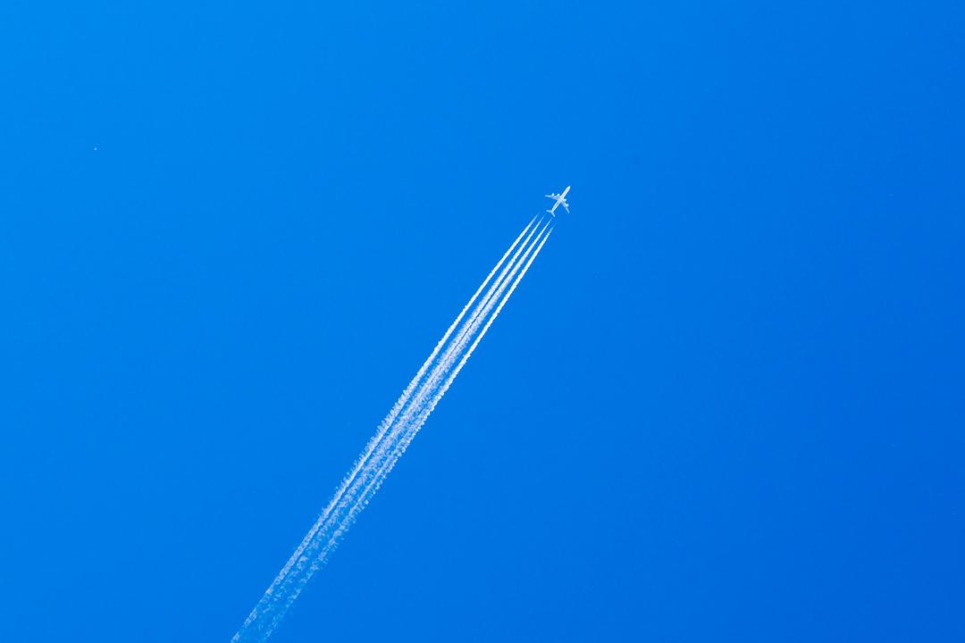 А340 в небе Копаоника