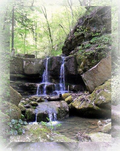 Весной, на Кавказе, у водопадов