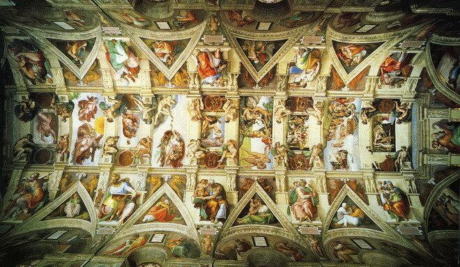 Сикстинская капелла. Ватикан