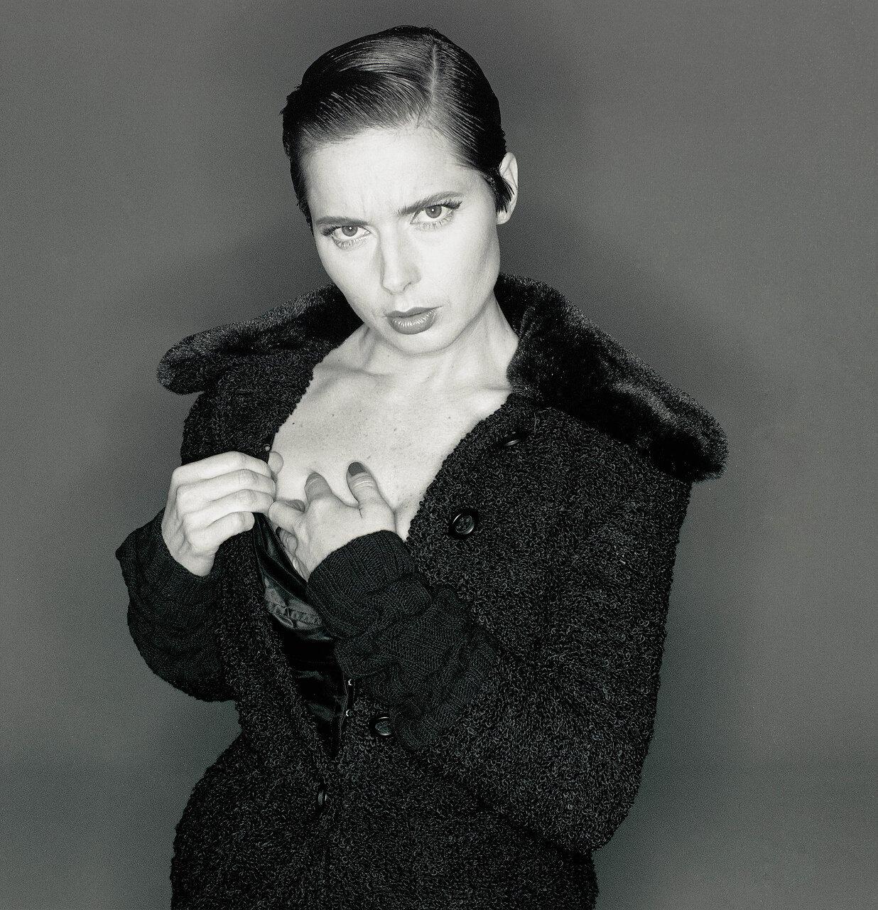 Michel Comte, Isabella RosselliniD; Gabbana, 1993