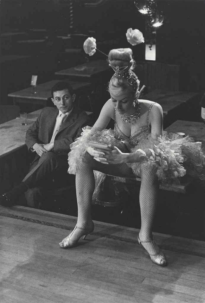 1950-е. Танцовщица кабаре