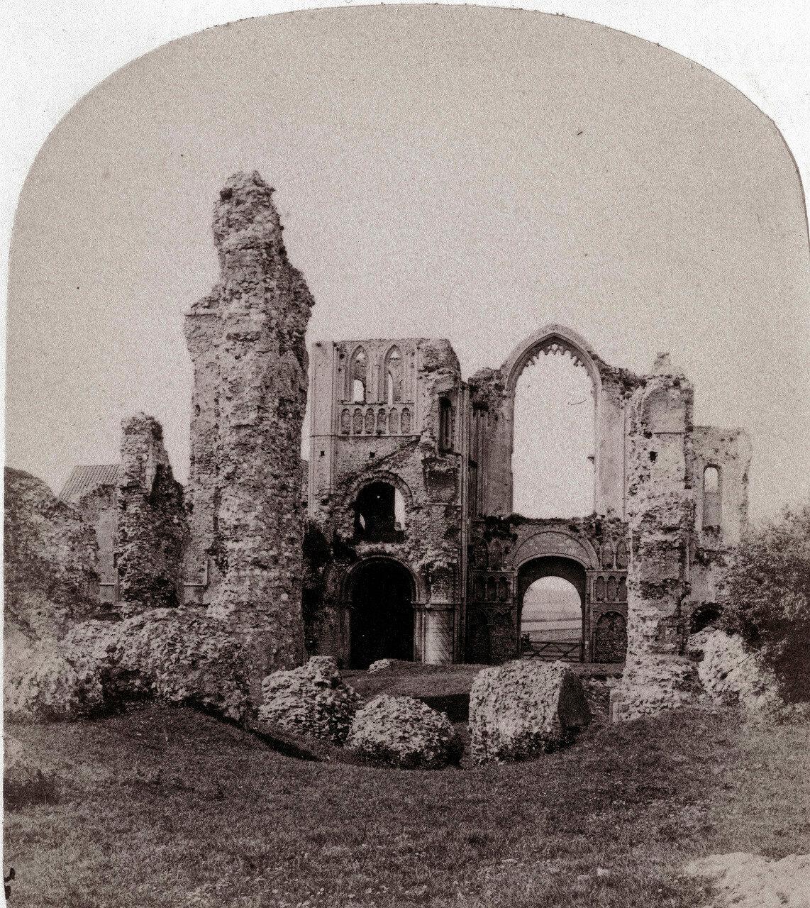 Монастырь Замка Акра. Великобритания, 1864