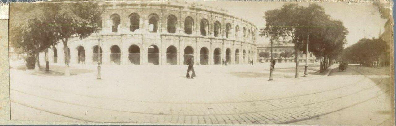 Общий вид амфитеатра. 1900.
