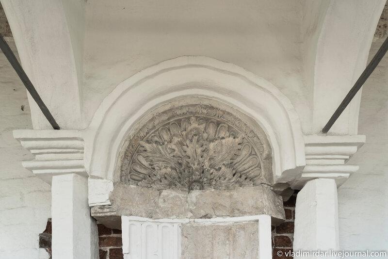 Царское место. Вознесенская церковь в Коломенском.