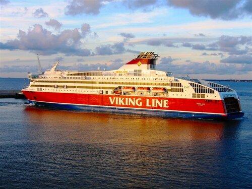 Таллин-Стокгольм. Tallink. Паром