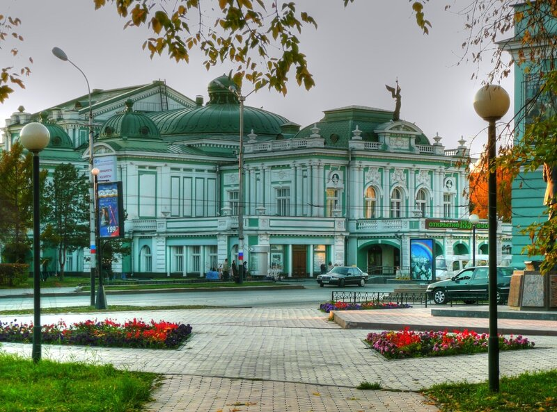 Картинки мой город омск, про