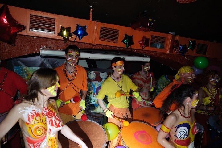 карнавал + бодиарт вечеринка - Маракату в клубе АртеФак