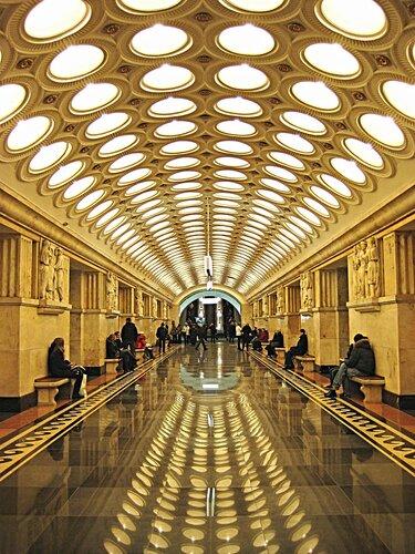 Станция метро Электрозаводская.