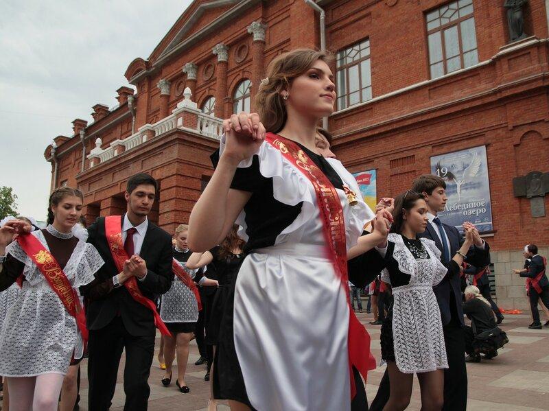 Уфа. Городской бал выпускников 2015
