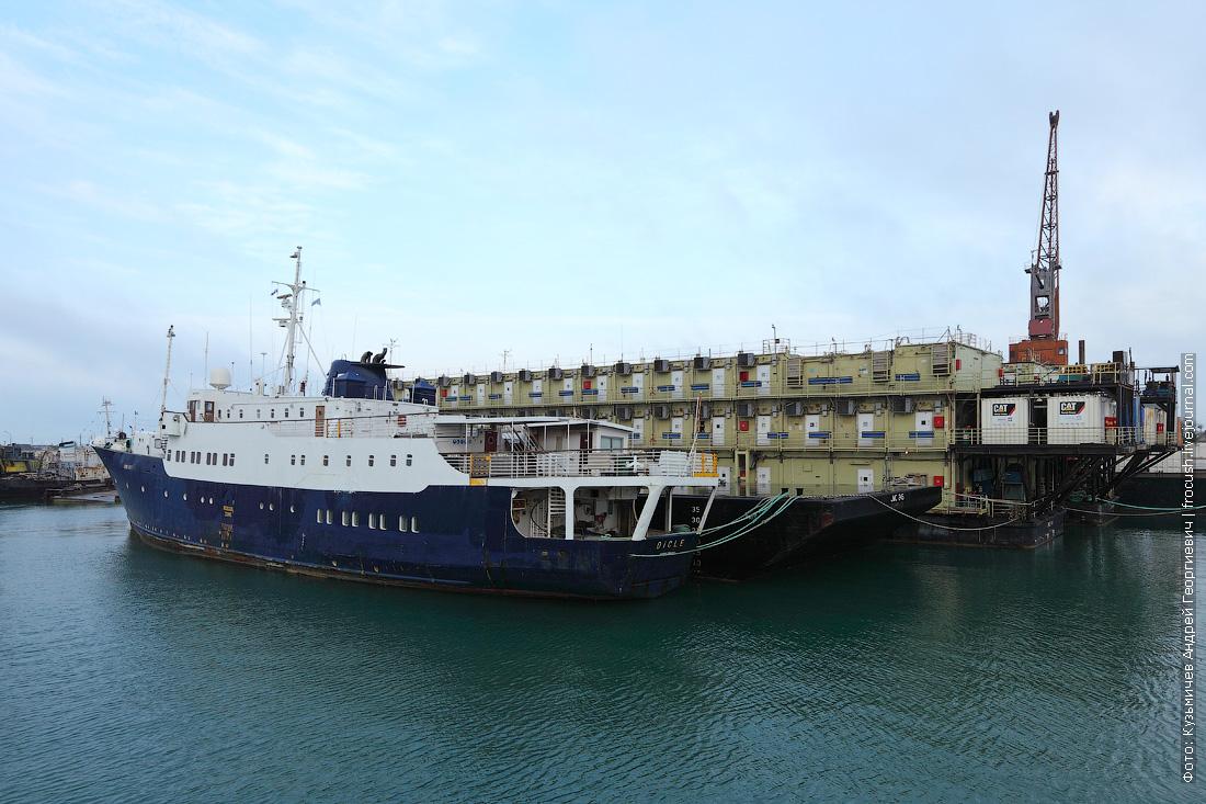 судно Dicle Баутино