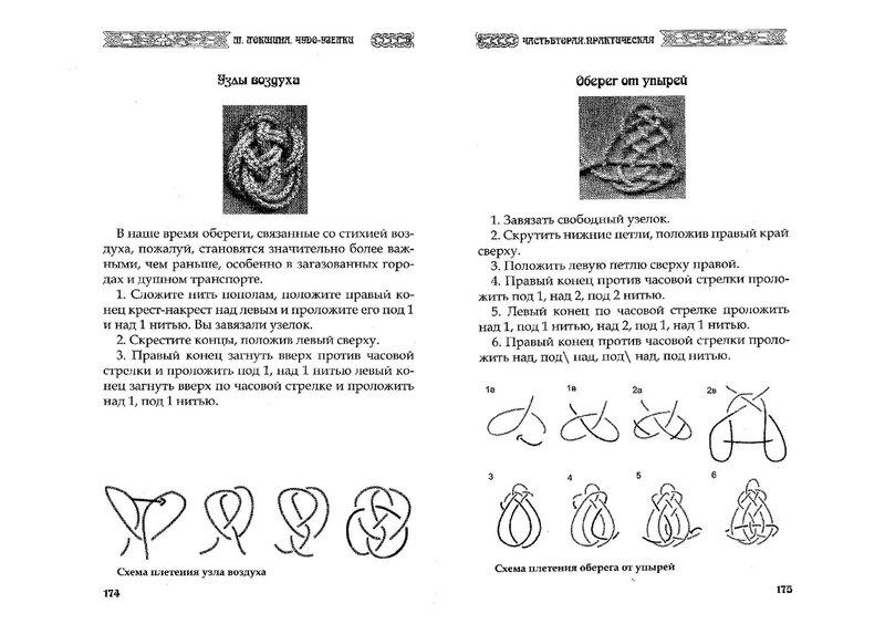 Славянские наузы своими руками схемы 2