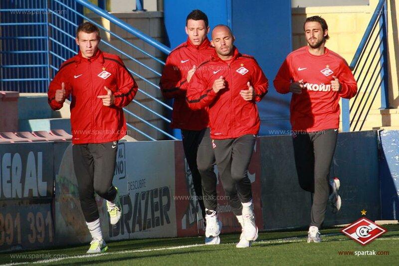 Открытая тренировка «Спартака» в Испании (Фото)