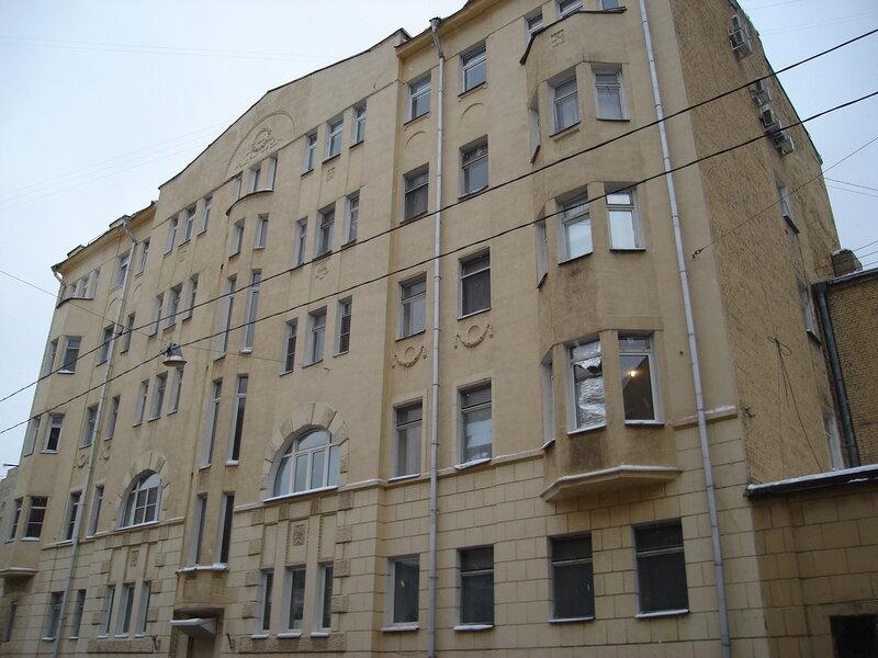 доходный дом Ю. П. Эггерс (1913—1914, улица Россолимо, 4) <br />