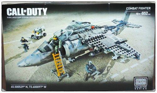 "Фотообзор Mega Bloks Call of Duty ""Combat Fighter"""