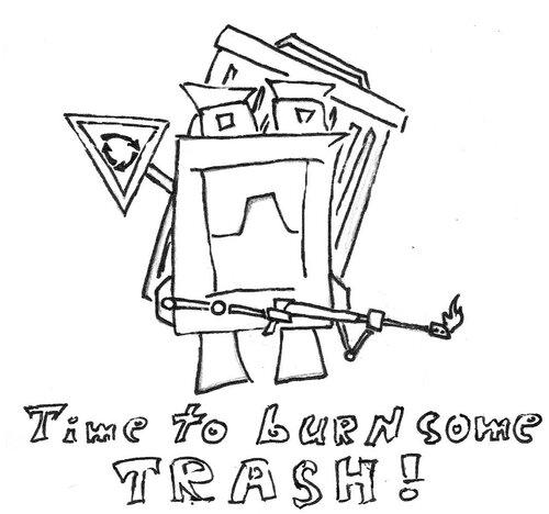 Trasher bot