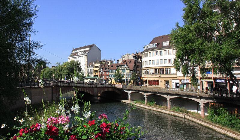 Жаркий день в Страсбурге