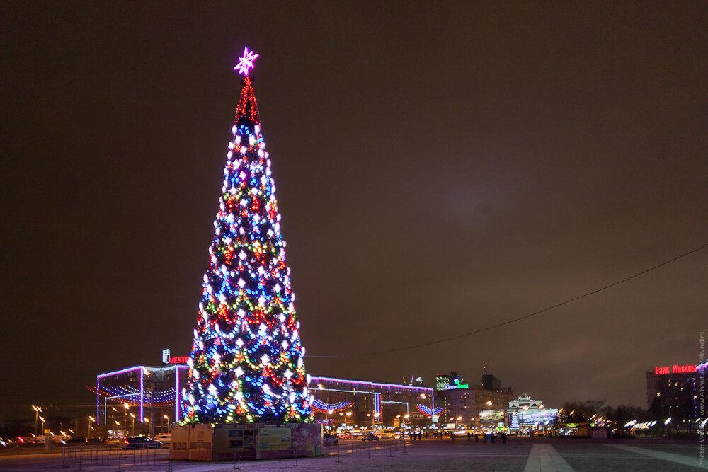 Новогодняя ёлка «Московская» на Поклонной горе