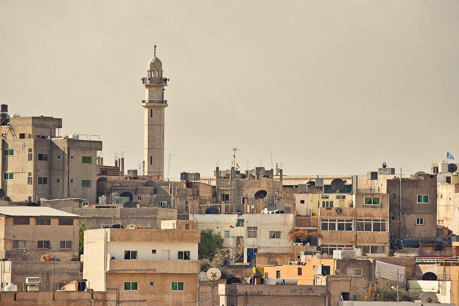 Минарет в Мадабе / Minaret in Madaba