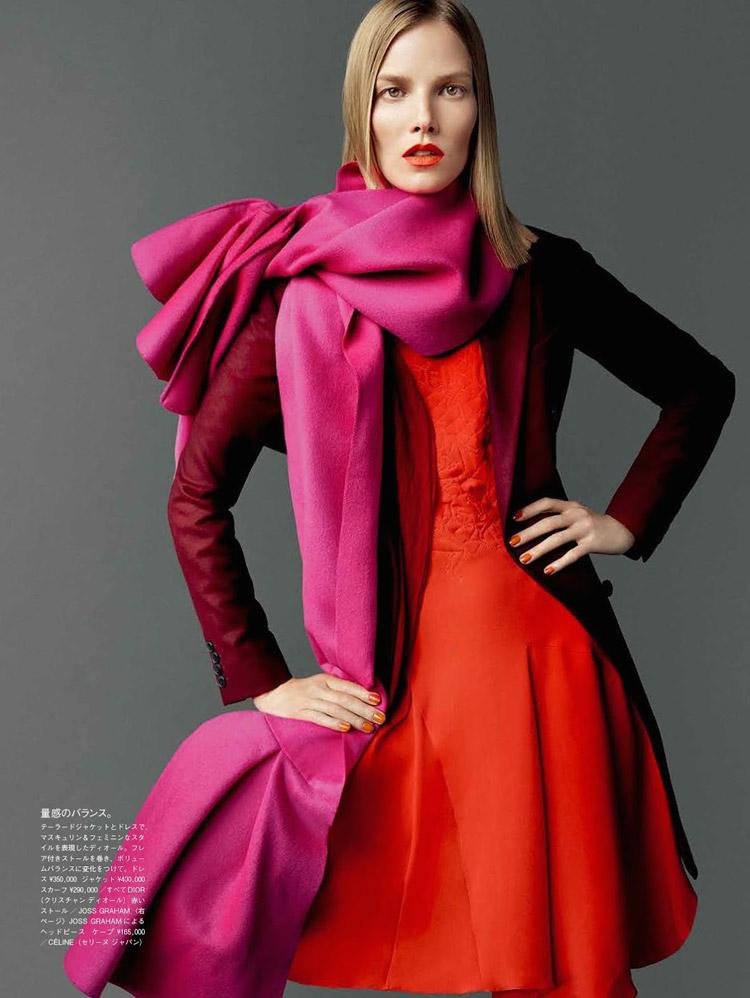 Суви Копонен (Suvi Koponen) в журнале Vogue Japan