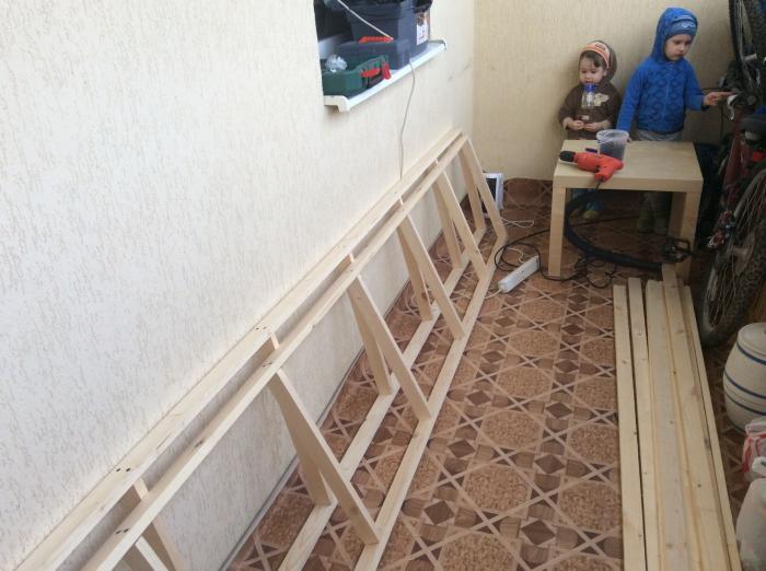 Дачный участок на балконе своими руками