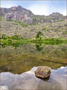 Ергаки. Озеро Мраморное