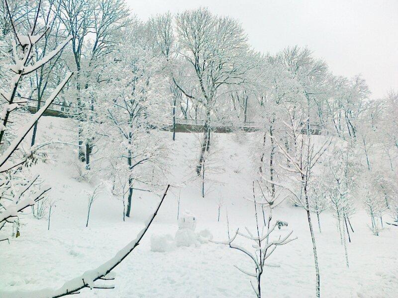 Зима 2012 на Владимирской горке