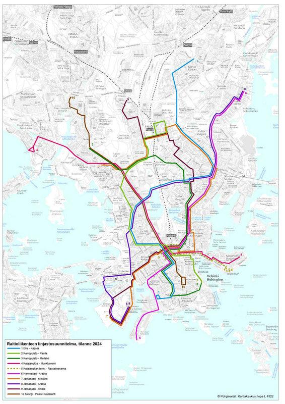 Планы по развитию трамвая в