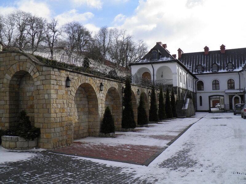 Василианский монастырь святого Онуфрия. г.Львов.