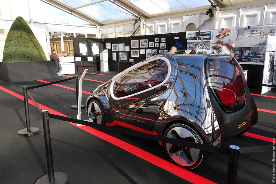 Выставка концепт-каров в Париже