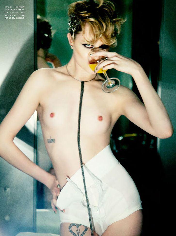 модель Ивен Рейчел Вуд / Evan Rachel Wood, фотограф Ellen von Unwerth