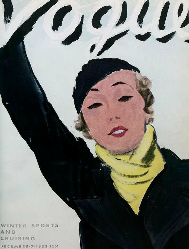 Vogue Magazine cover 1932