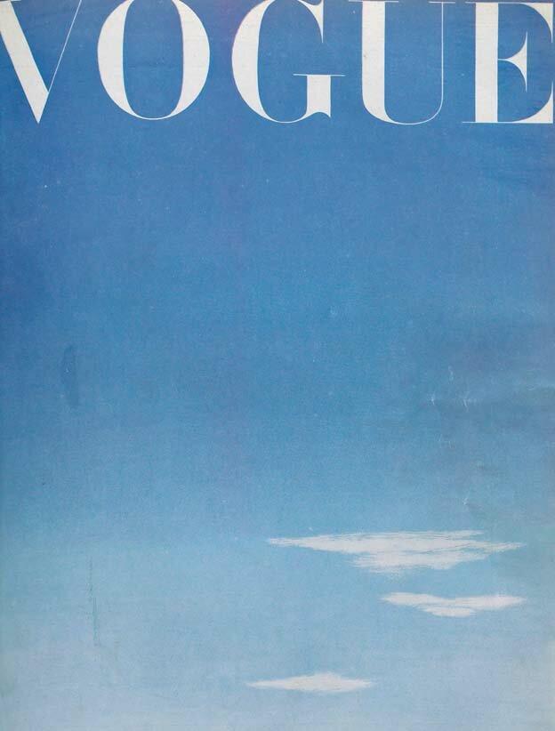 Vogue Magazine cover 1945