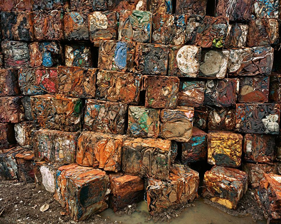 Densified Oil Drums Hamilton, Ontario, Canada, 1997
