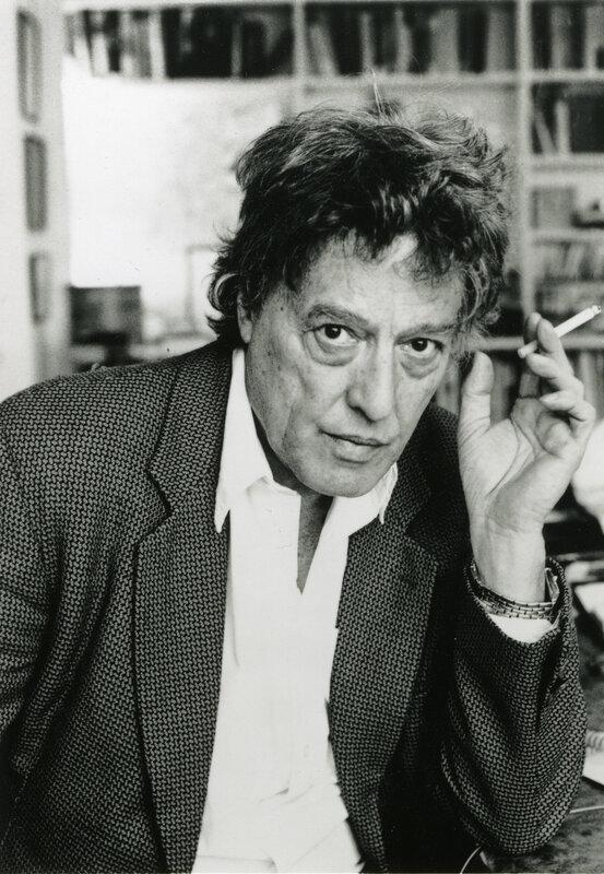Британский драматург Том Стоппард