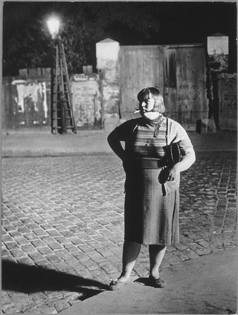 Brassaï, Prostitute in the Quartier Italie, Paris, 1932
