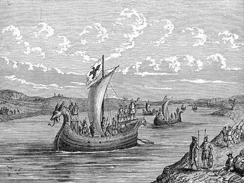 Флот викингов