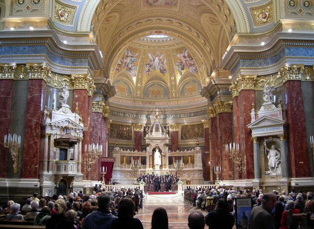 Базилика Святого Иштвана. Будапешт