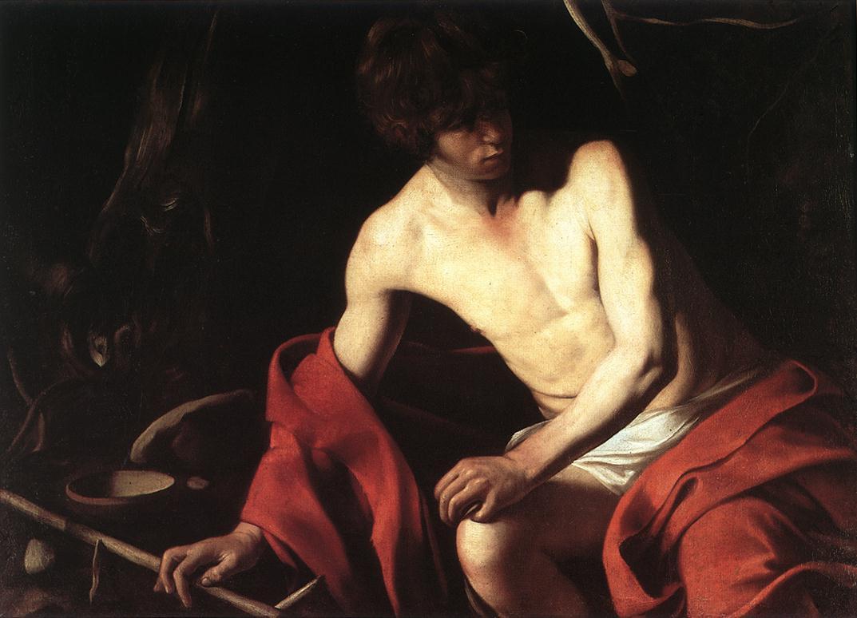 «Иоанн Креститель в пустыне» (Национальная галерея в Палаццо Корсини, Рим);