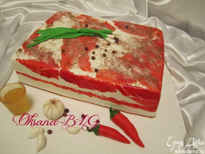 Торт сало рецепт с фото