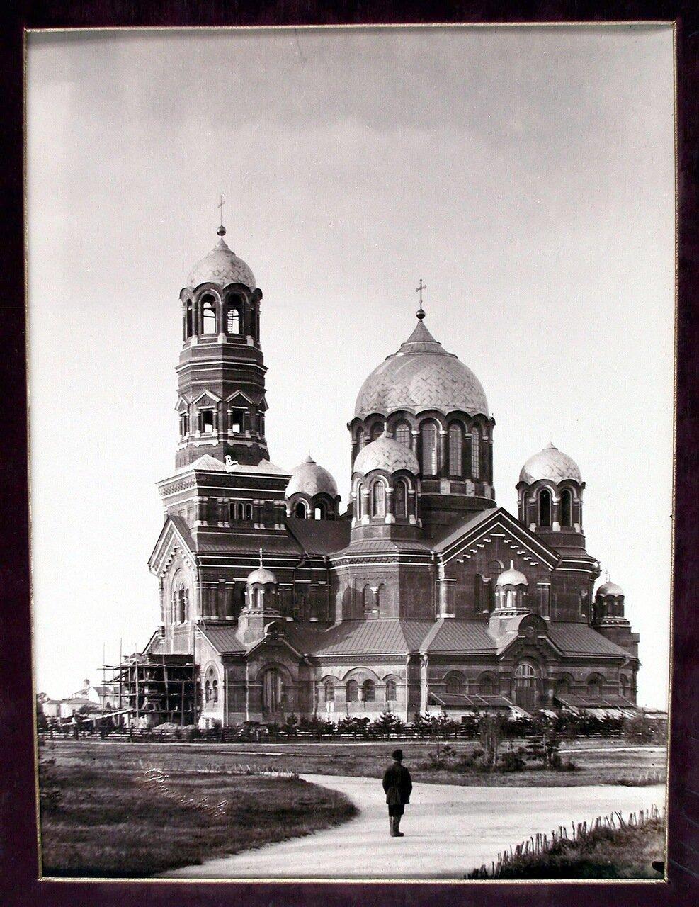 04. Вид строящегося Кафедрального собора