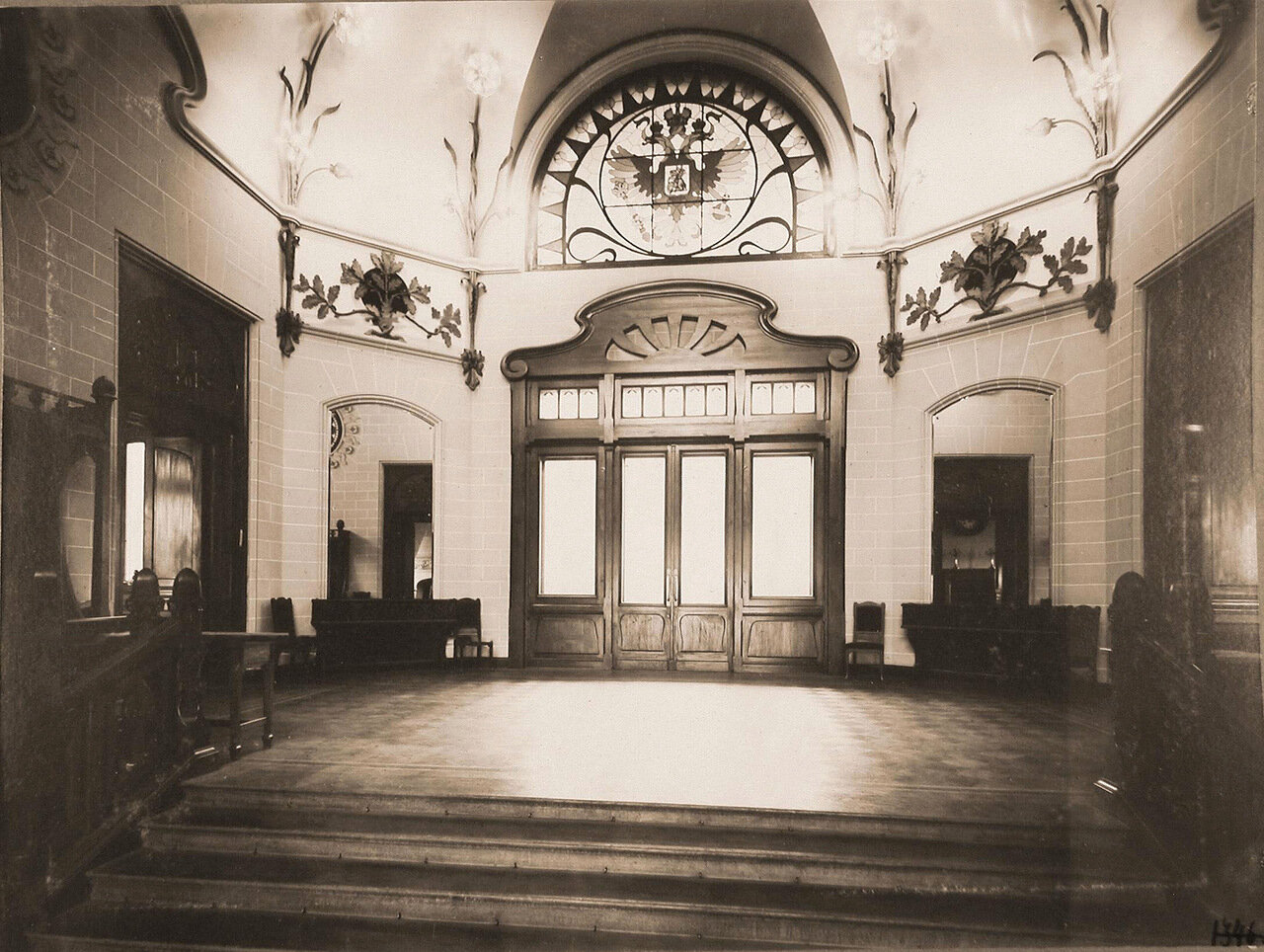 04. Вид вестибюля Императорского павильона